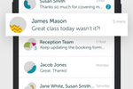 OurPeople screenshot: OurPeople live chat