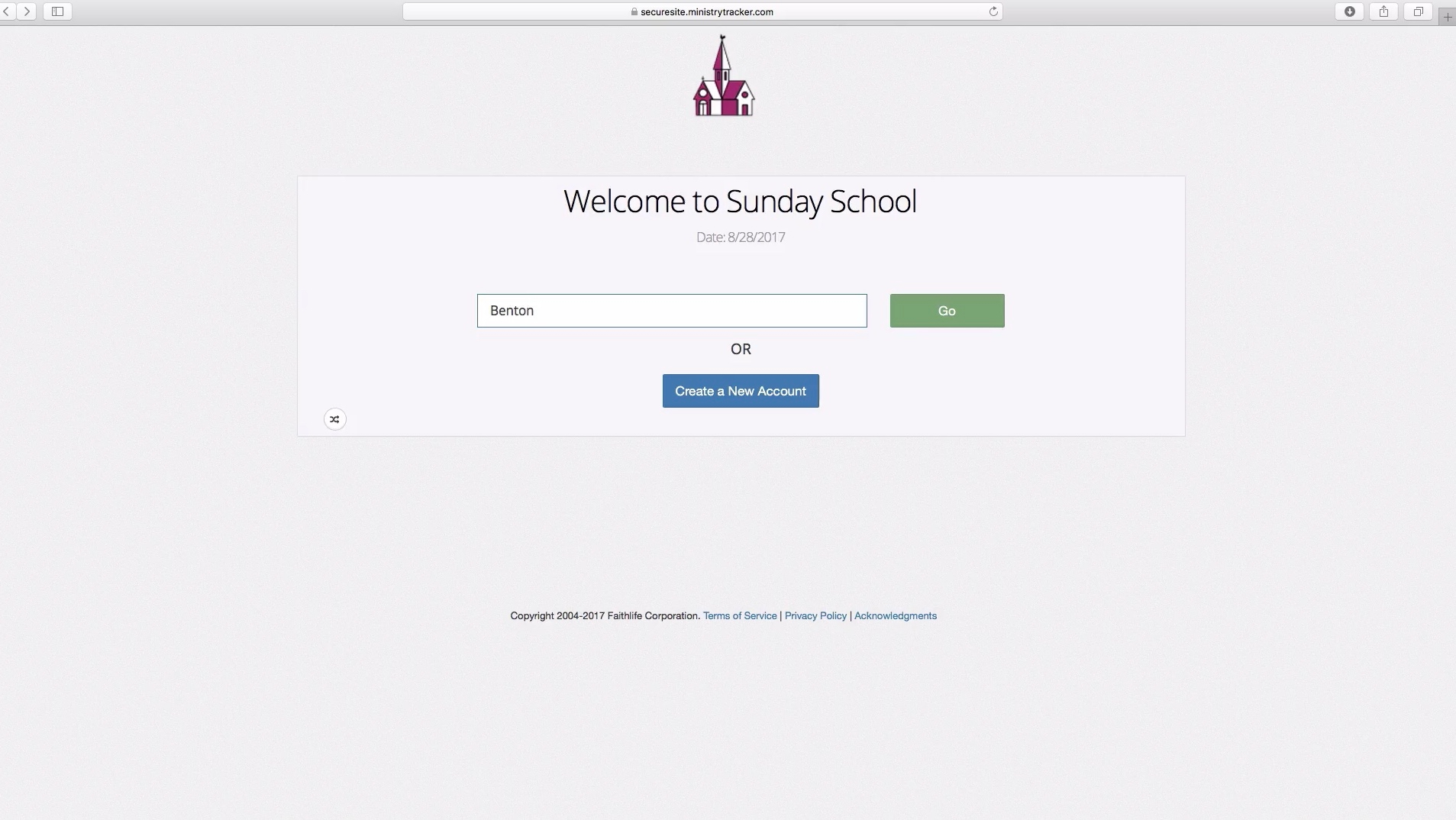 Check-ins for Sunday mornings and events are simple for everyone