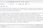 Scholars United screenshot: Write application essays and add attachments