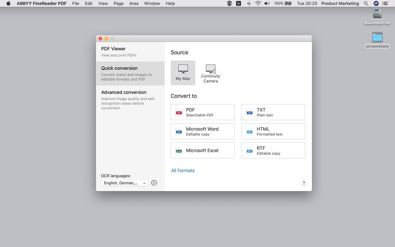 ABBYY FineReader PDF Software - 3