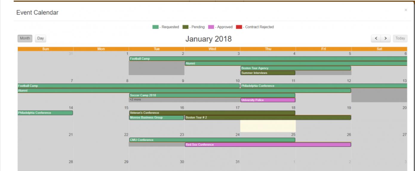 Event Guru calendar