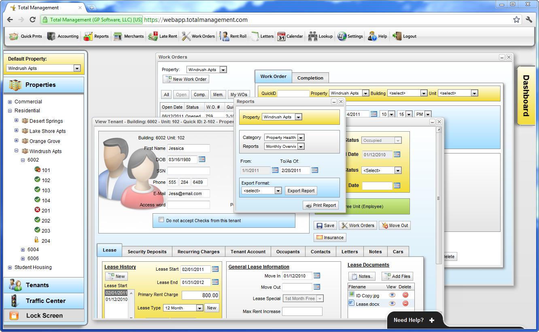 Total Management Software - Web-based multitasking