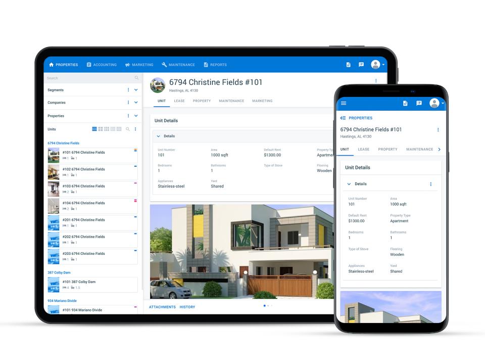 Property Matrix Software - Mobile App