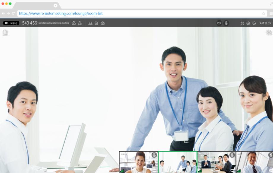 RemoteMeeting presentations