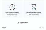 Captura de tela do Workable: Mobile applications for iOS and Android