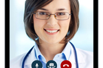 Mend screenshot: HIPAA audio and video connectivity promises mobile-friendly, secured telemedicine services subject to full insurance reimbursement support