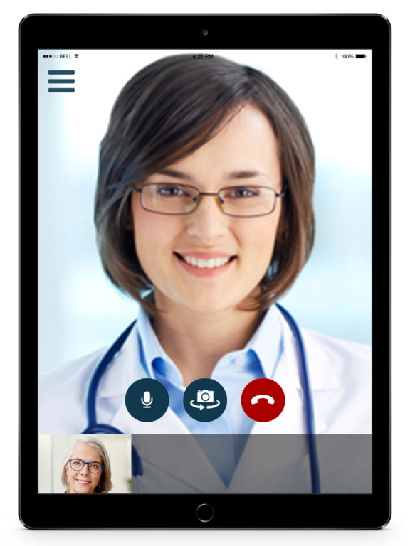 HIPAA audio and video connectivity promises mobile-friendly, secured telemedicine services subject to full insurance reimbursement support