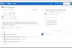 Flow screenshot: Simple project management