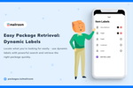 Capture d'écran pour PackageX Mailroom : Dynamic Labels with PackageX Mailroom