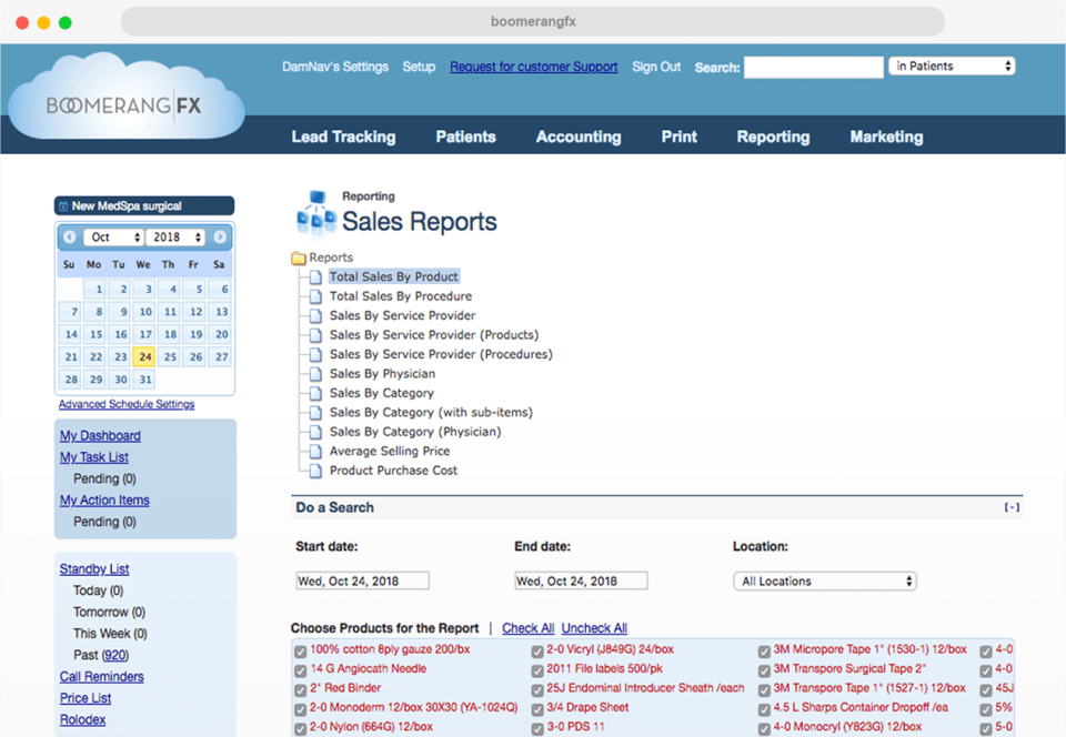 View reports on sales, performance, and ROI