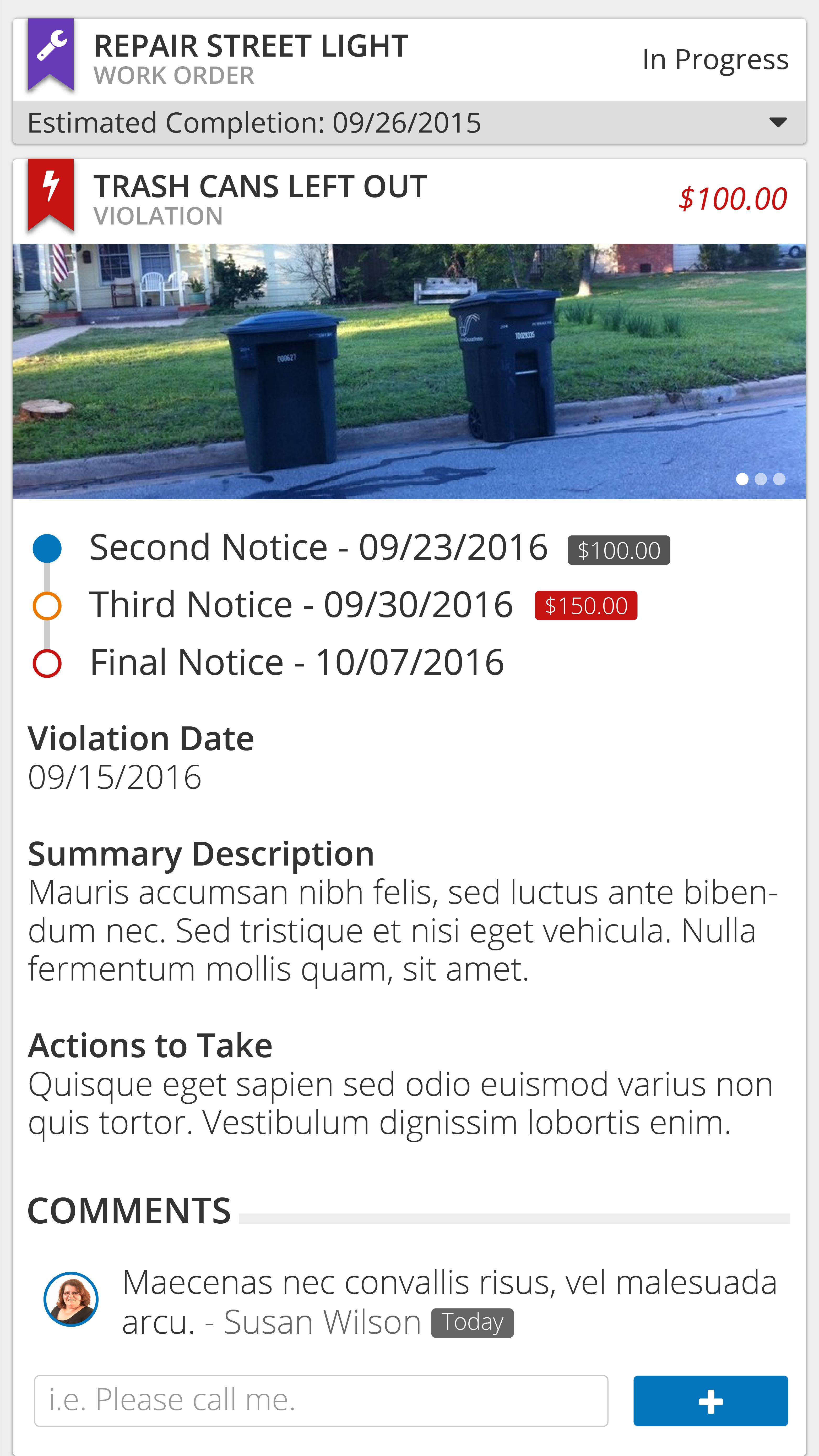 Violation Management