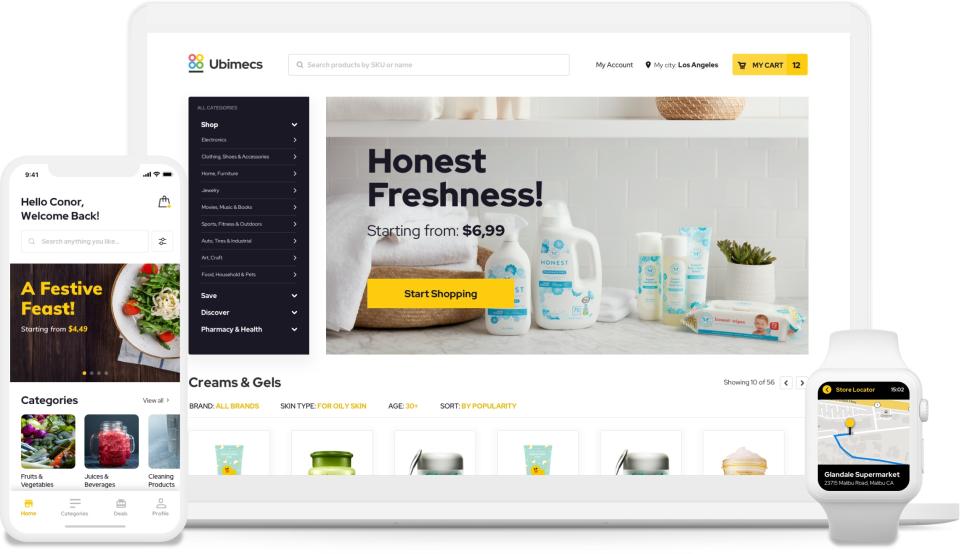 Ubimecs Grocery Software - 1