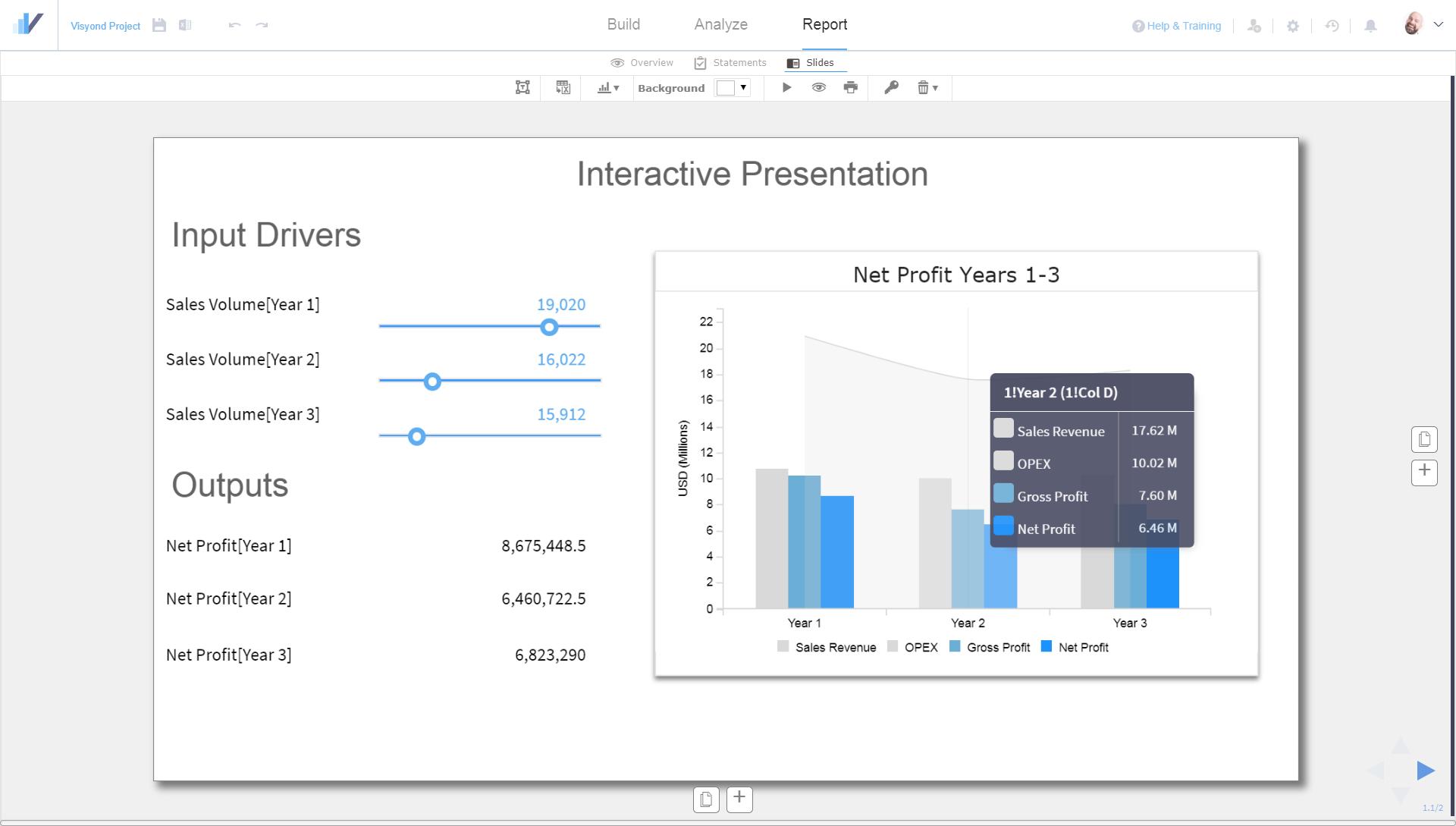 Interactive Spreadsheet-driven Dashboards