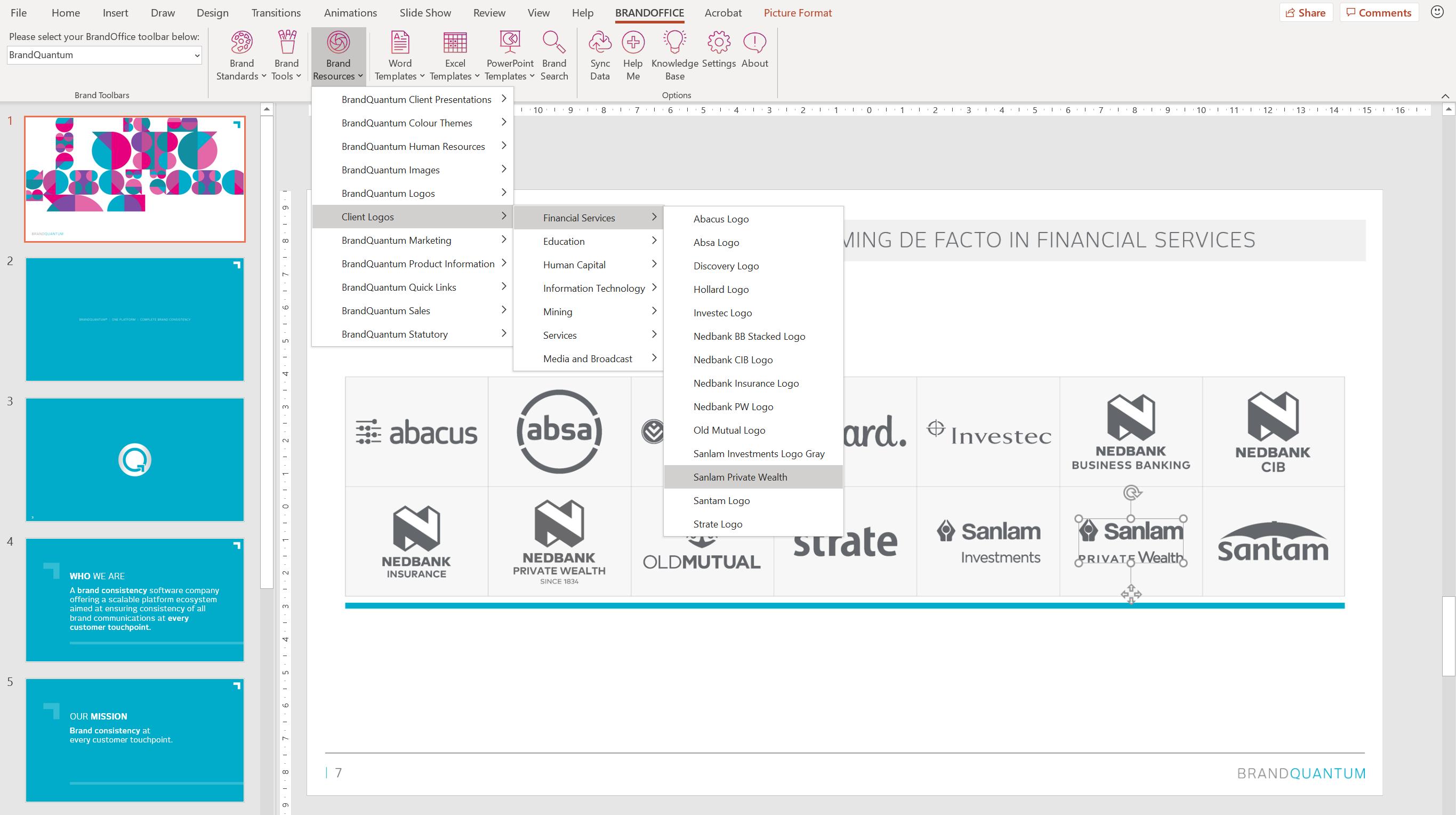 BrandOffice document creation