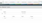 Husky Intelligence screenshot: Parts and Service Lists