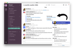 Chatlio screenshot: Chatlio requires no additional software, browser tabs or extensions aside from the embedded widget to leverage Slack-based online chat