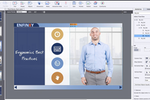 Adobe Captivate screenshot: Use the newly enhanced Fluid Boxes to automatically author fully responsive eLearning content that works across all devices and browsers