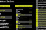 H20 Driverless AI screenshot: H2O Driverless AI experiment settings