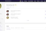 Captura de tela do Leapsome: User Profile