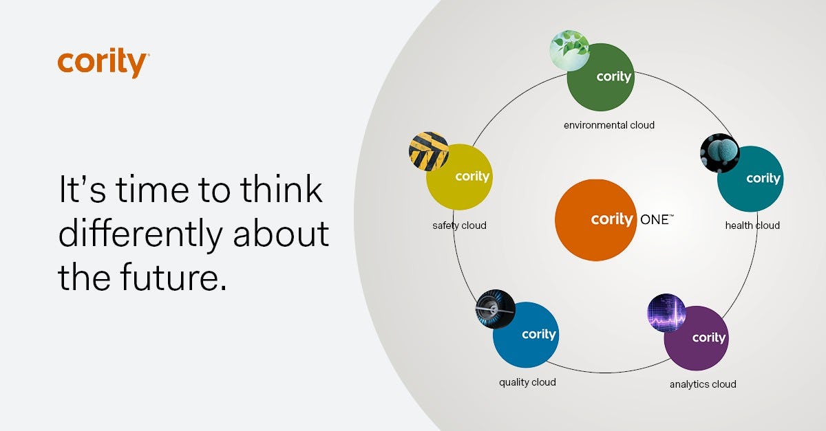 Cority Software - CorityOne™ is our integrated SaaS platform spanning the full spectrum of Environmental, Health, Safety, Quality, and Analytics across your organization to help your people and business thrive.