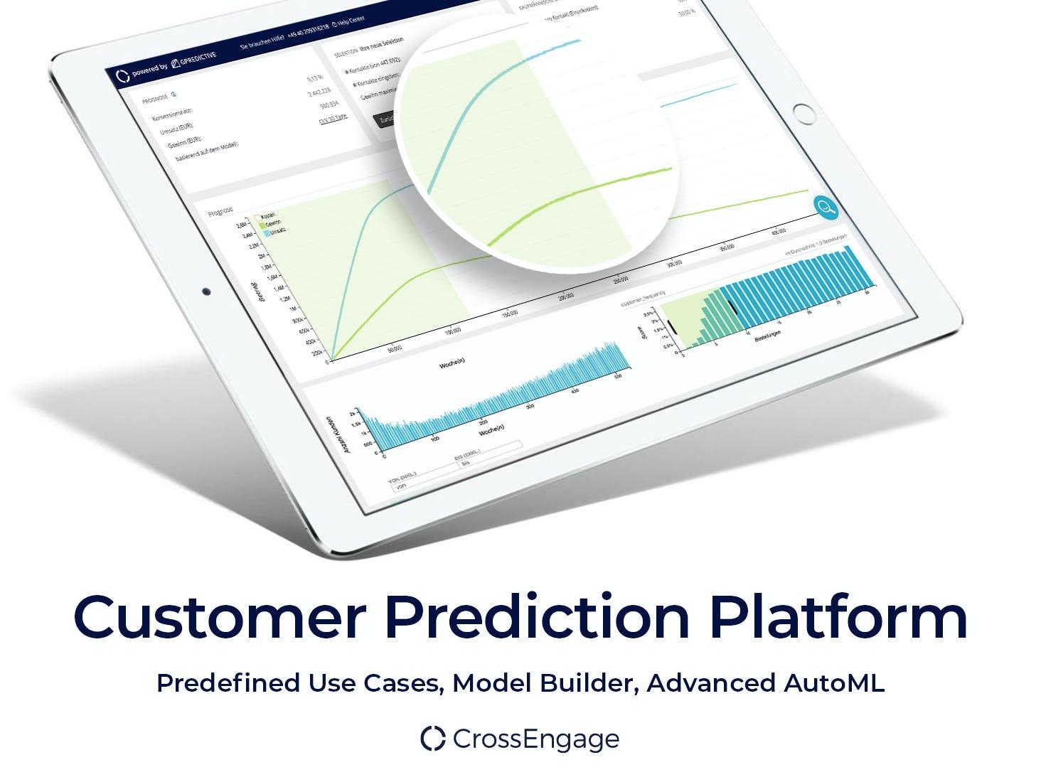 CrossEngage Software - Customer Prediction Platform