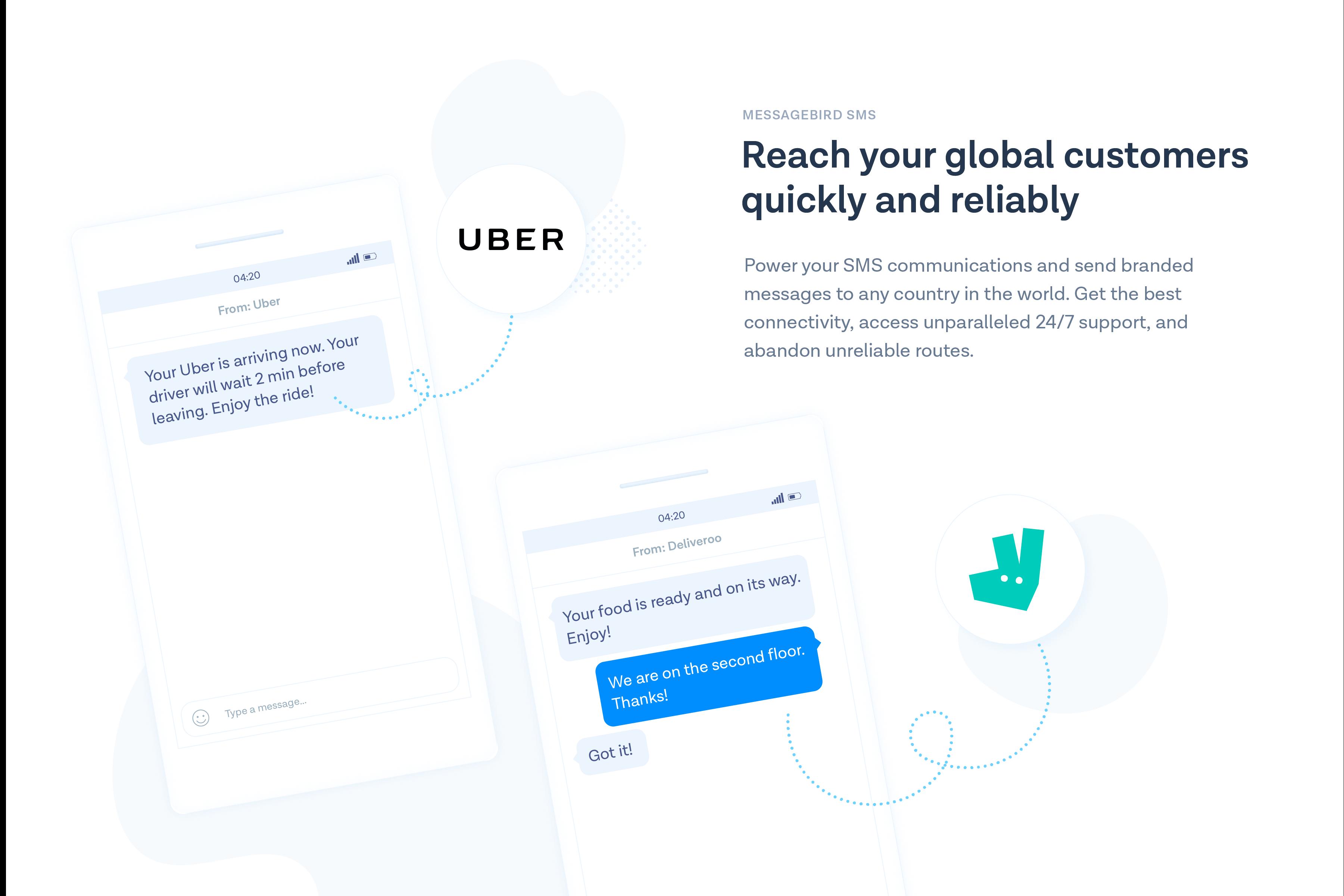 MessageBird screenshot: MessageBird SMS Messaging API