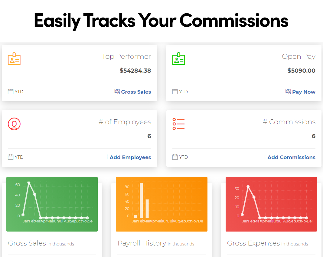 Commission Pay Pro track commissions