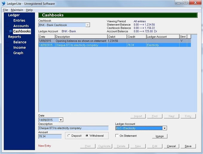 LedgerLite Software - 4