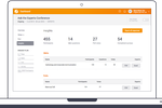 Pigeonhole Live screenshot: Insights let users track audience engagement with detailed reports