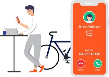 CALL DISTRIBUTION & PRESENCE. Send calls to the right people with rich availability, presence, and call distribution so customers always get connected.
