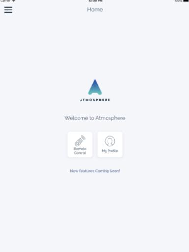 Atmosphere TV homepage
