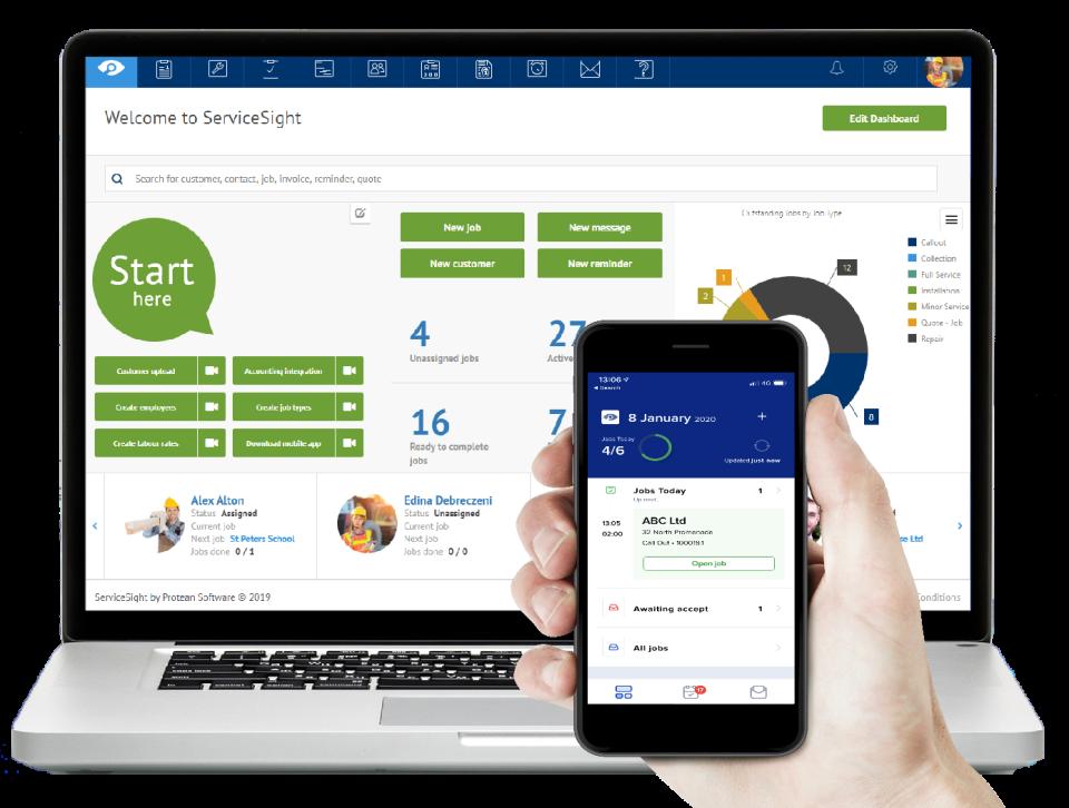 ServiceSight Software - 1