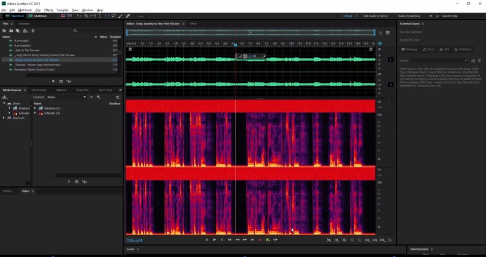 Adobe Audition Software - 1