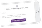 LoyaltyLion screenshot: Encourage customers to return with loyalty rewards and inbuilt reminder emails