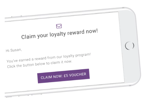 Encourage customers to return with loyalty rewards and inbuilt reminder emails