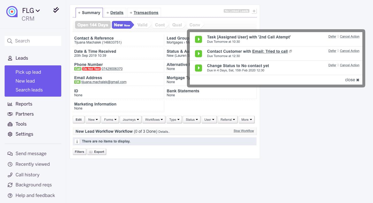 FLG example workflow