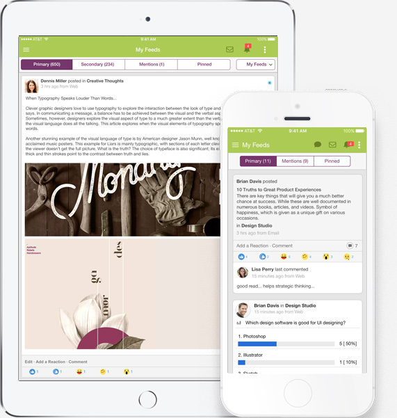 Ready-to-go mobile Intranet for businesses - simple, smart and beautiful. Close the digital communication gap for non-desk employees.
