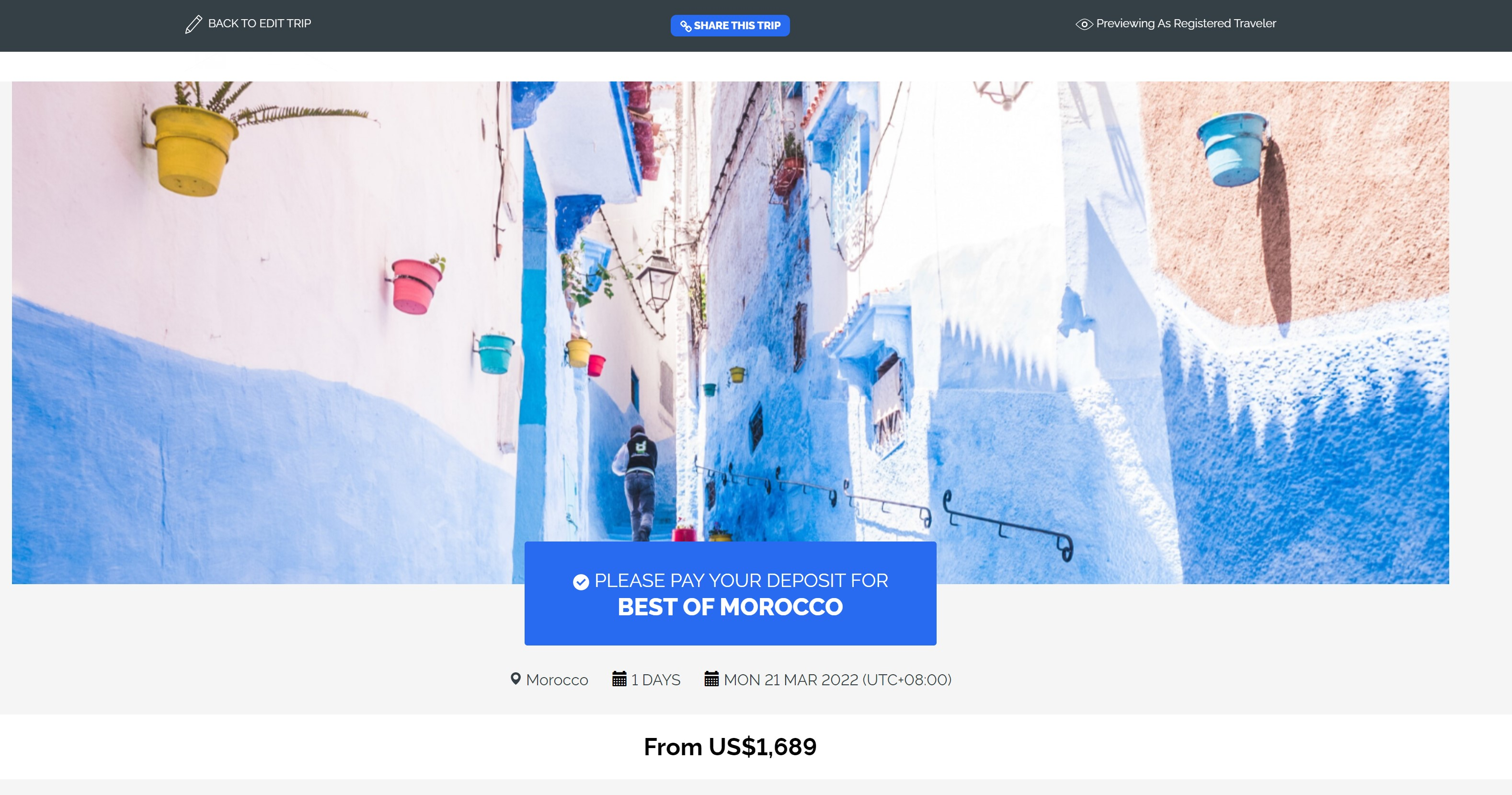 YouLi screenshot: Beautiful Trip Pages & Itineraries (Unlimited)