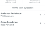 Hourly screenshot: Hourly track employees