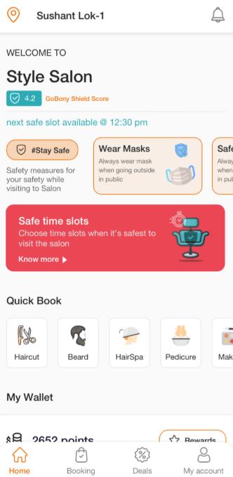 GoBony customer mobile application