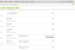 Captura de pantalla de Wild Apricot: WA Database Screenshot