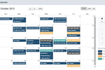 interviewstream screenshot: The scheduler integrates with Outlook, Google Calendar, and iCalendar