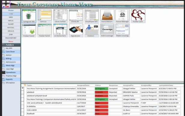 CSM/PCS folders