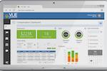 VUE screenshot: Compensation dashboard