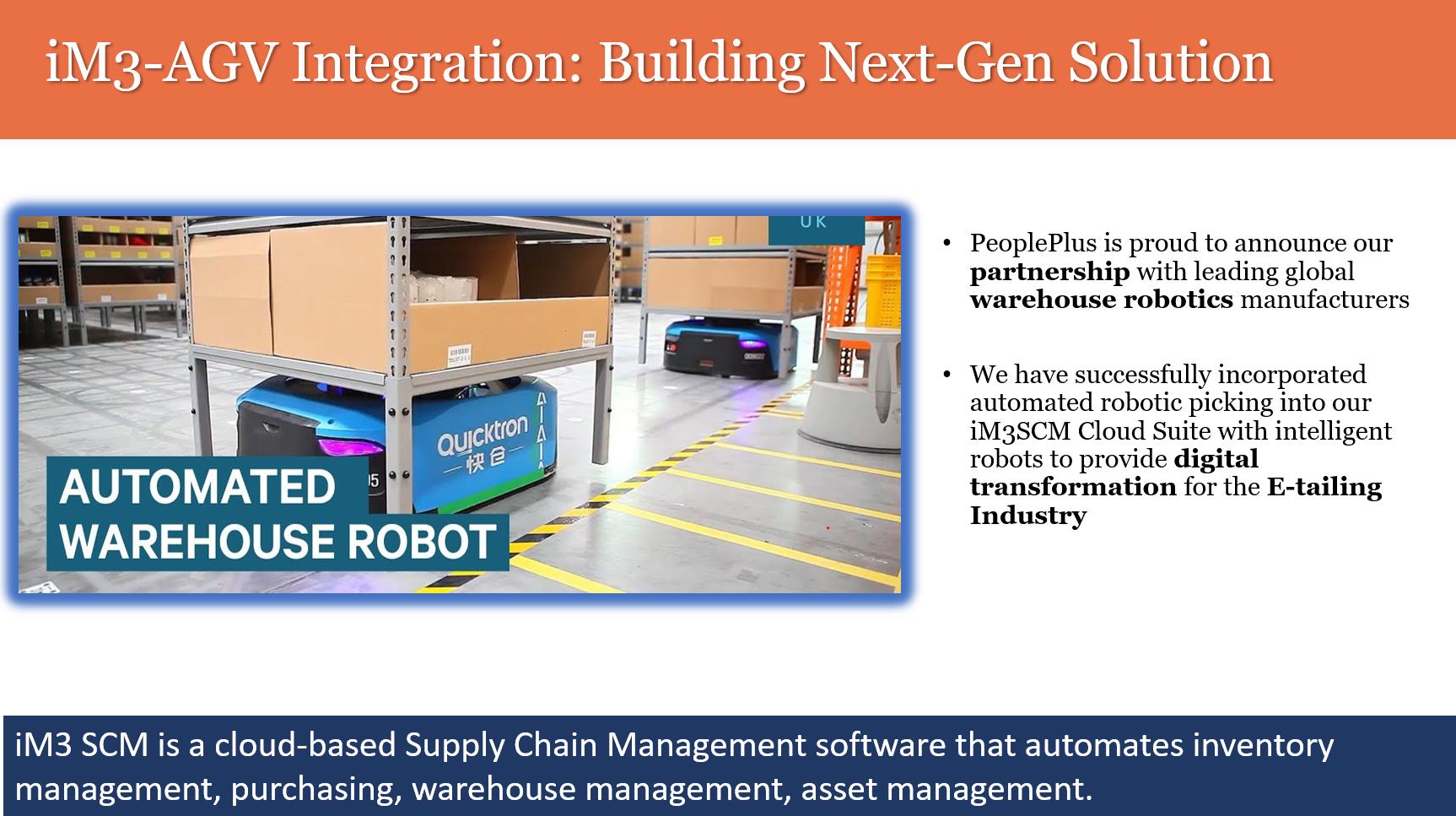 Warehouse Management: AGV Integration- Building Next-Gen Solution