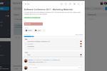 Stackfield Screenshot: Task management: task settings