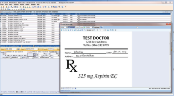 SuiteRx Intelligent Pharmacy Software (IPS) screenshot: SuiteRx IPS gives users instant access to all of their documents, prescriptions, refill approvals, prior authorization and signed patient forms