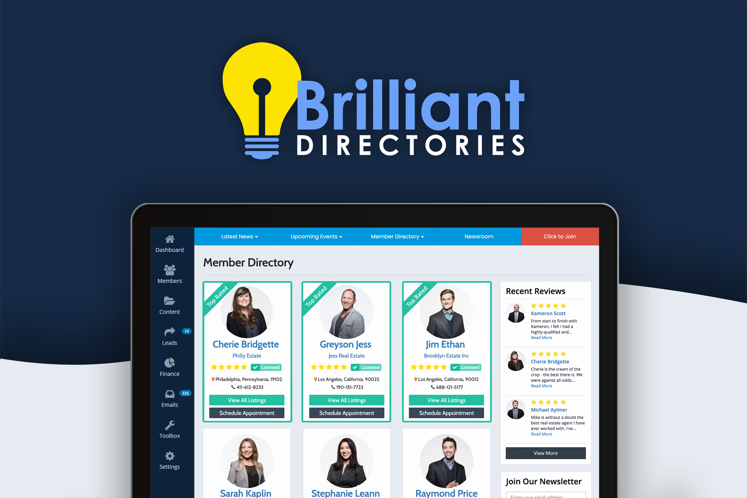 Brilliant Directories Software - Creat Your Own Online Membership Community