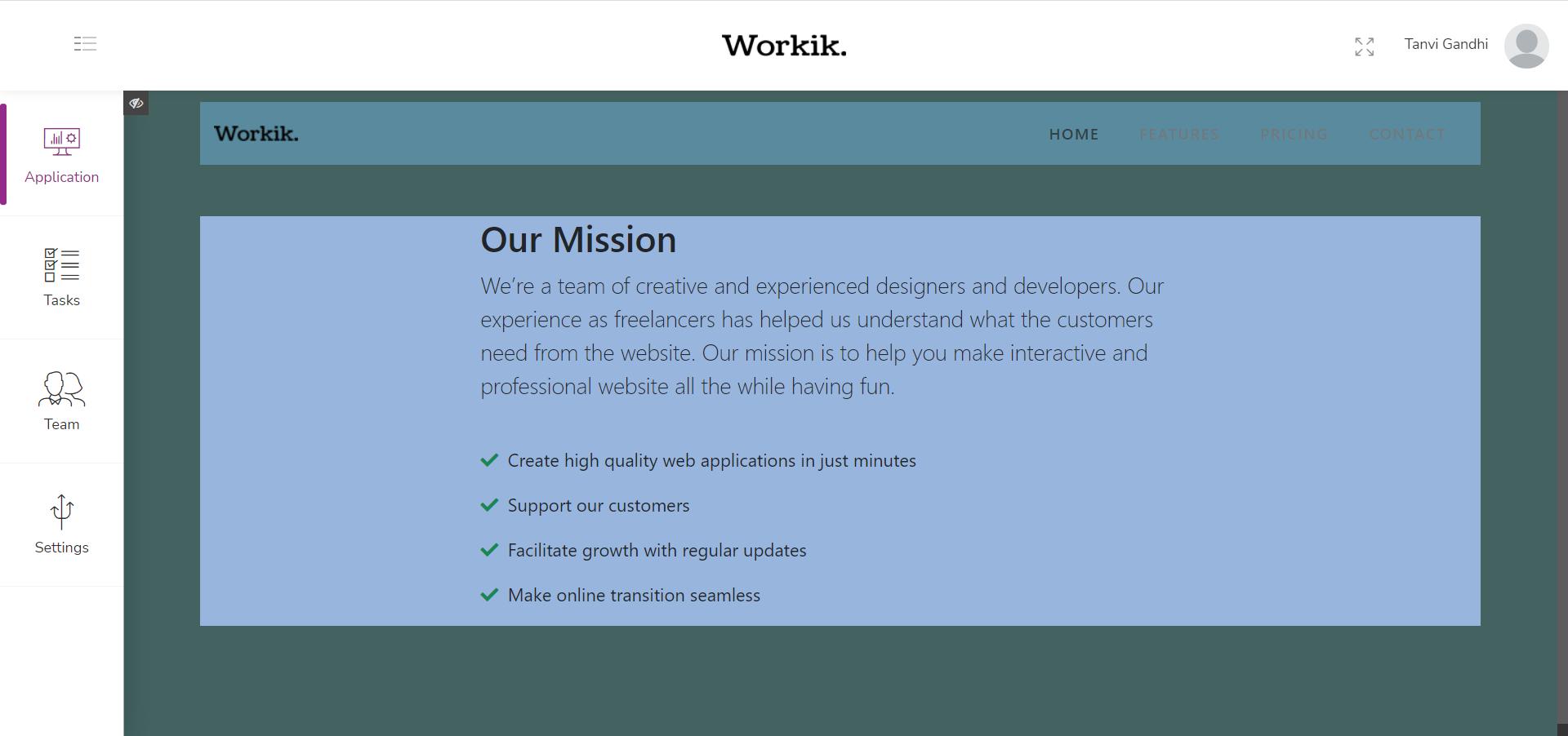 Workik Software - 3