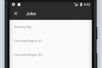 Timeero screenshot: Managers can track jobs and project budgets in real time